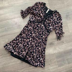 American Rag Bohemian Pink & Black Dress